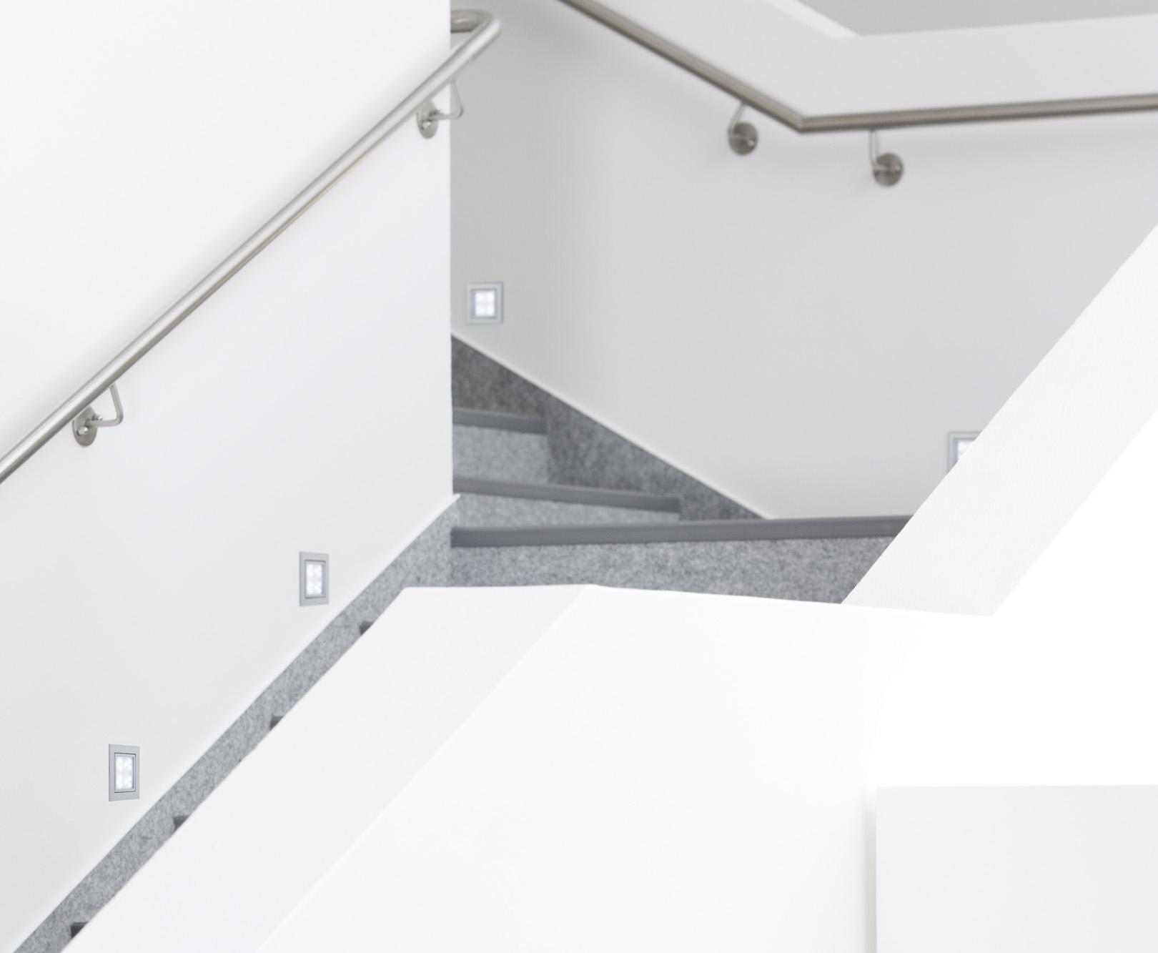 kit spot encastrable mural line led window 1 max 1x2w 230v alu matt paulmann. Black Bedroom Furniture Sets. Home Design Ideas
