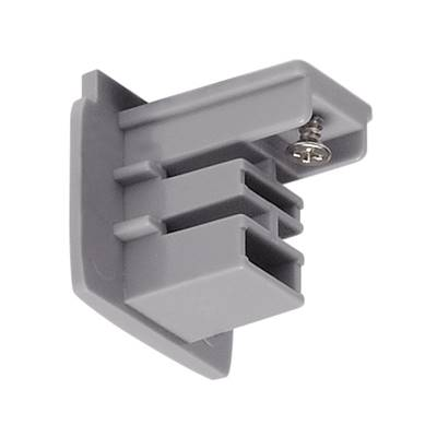S-TRACK, embout, gris argent, 1 pc SLV