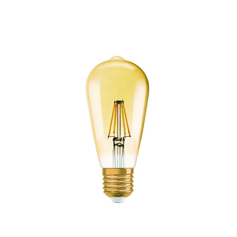 Ampoule led vintage edison ledvance dimmable 6 5w 824 e27 - Ampoule led dimmable ...