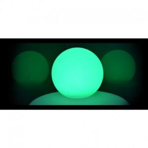 Boule lumineuse RGB rechargeable IP54