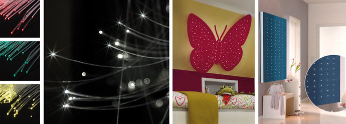 montage fibre otique led conseils et d monstration. Black Bedroom Furniture Sets. Home Design Ideas