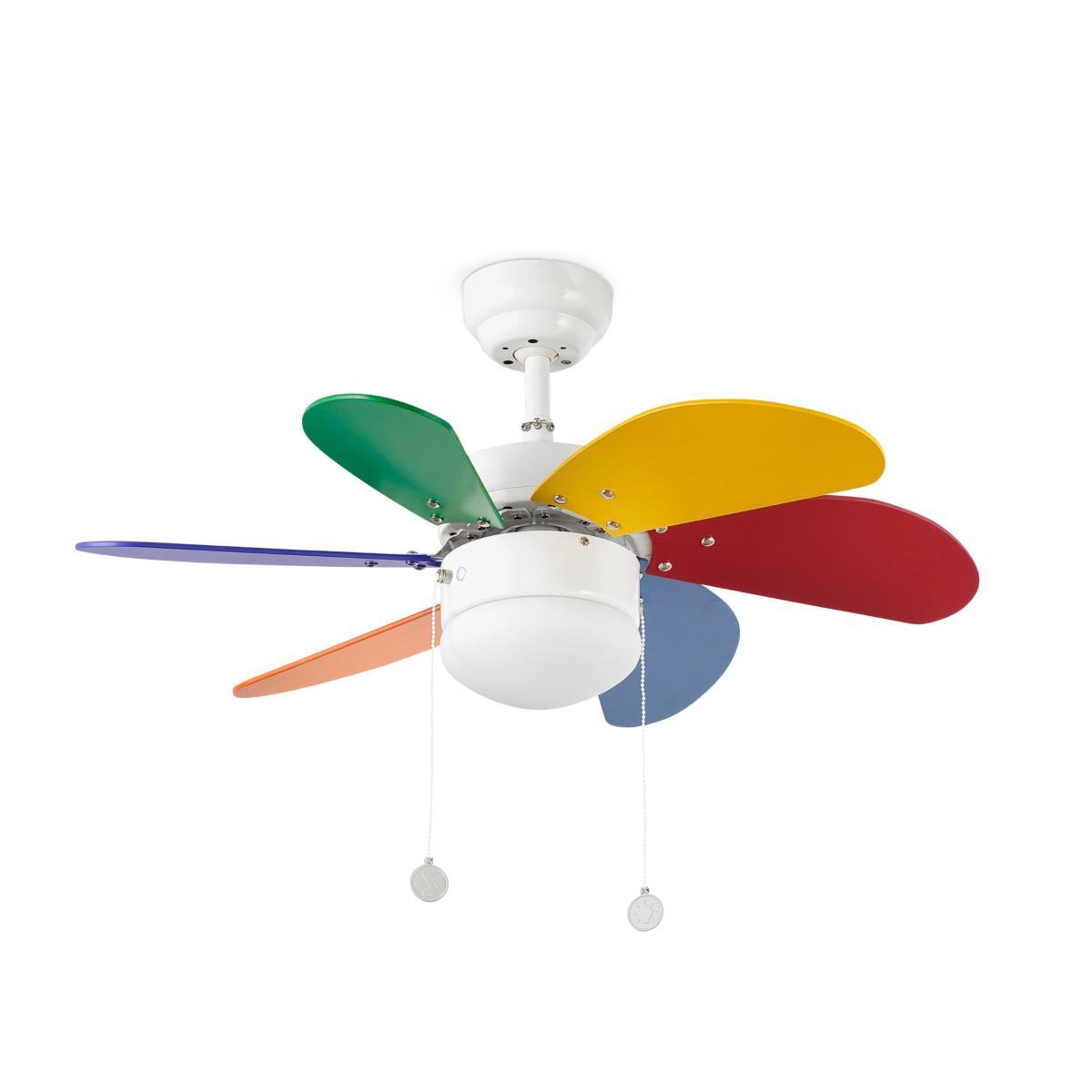 lustre ventilateur de plafond faro palao 33179. Black Bedroom Furniture Sets. Home Design Ideas