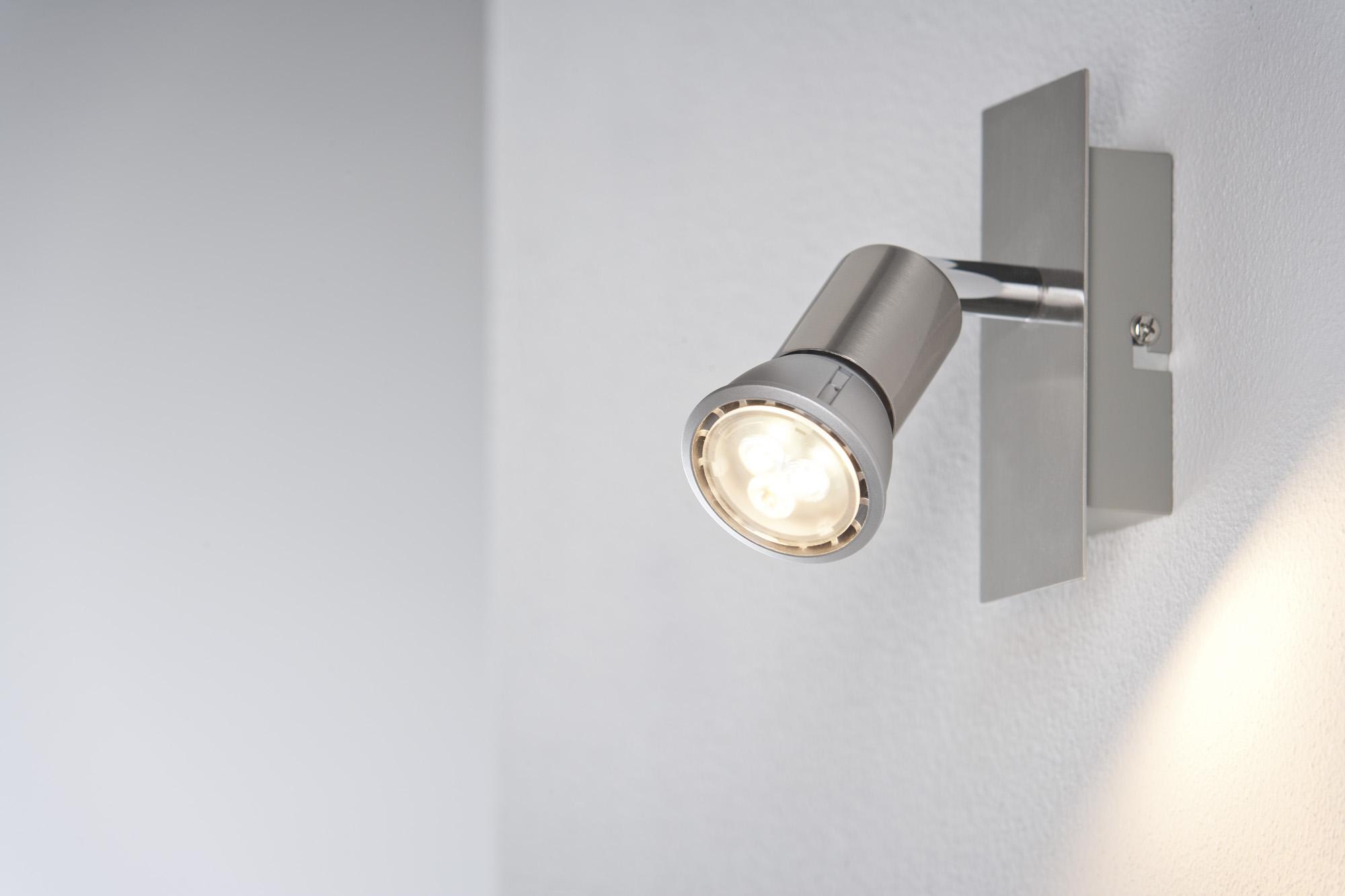 ampoule led gu10 230v 4w 35w blanc chaud 3 000k paulmann. Black Bedroom Furniture Sets. Home Design Ideas