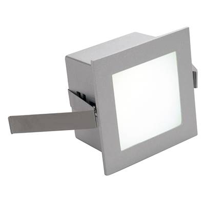 FRAME BASIC LED encastré, carré, gris argent, LED 4000K SLV