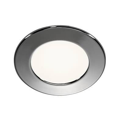 DL 126 LED, encastré rond, chrome, 2.8W LED 3000K, 12V SLV
