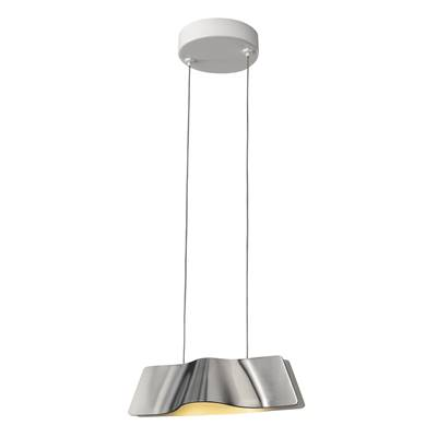 WAVE PENDANT, suspension, alu/blanc, LED 8,6W 3000K avec patère SLV