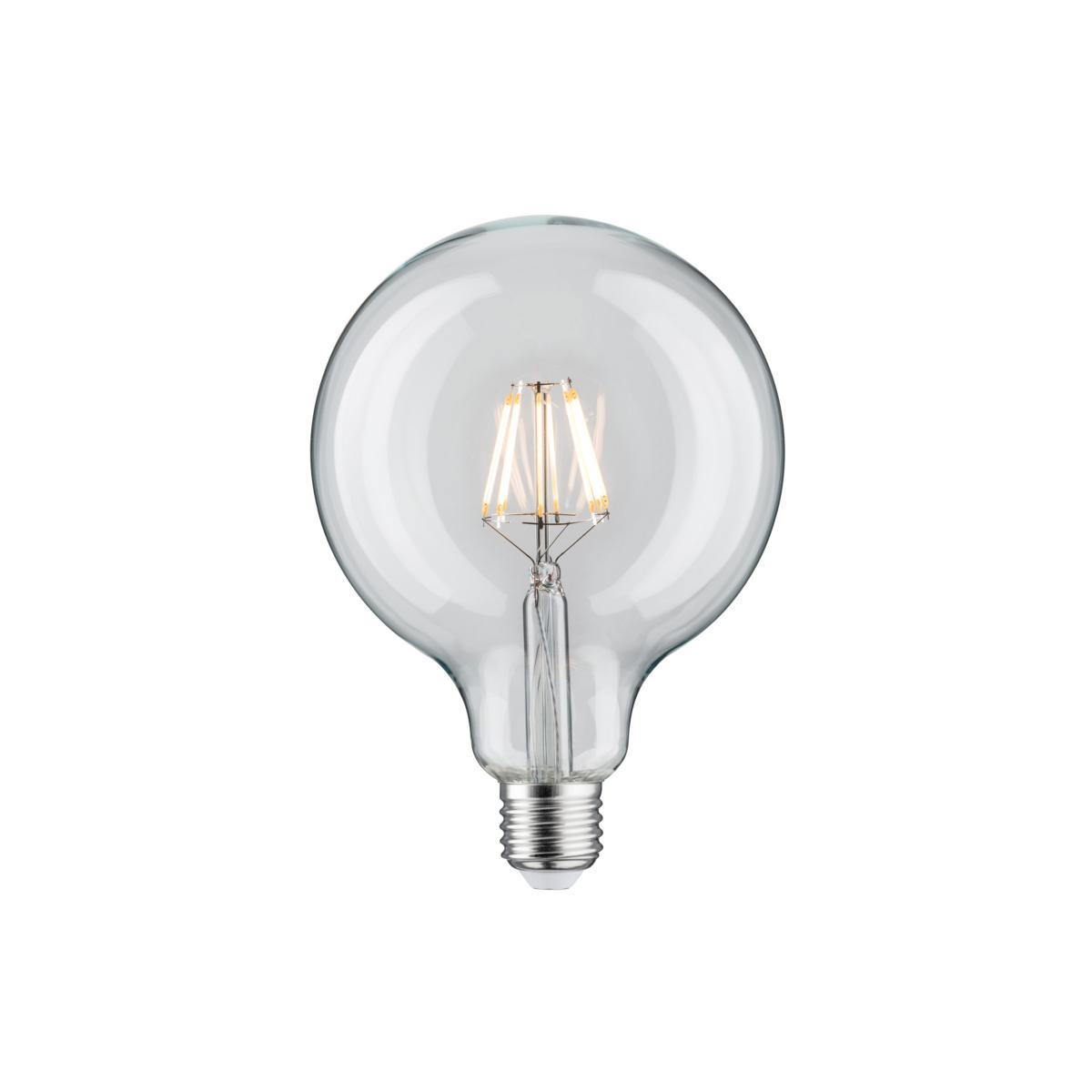 ampoule led filament dimmable 7 5w e27 blanc chaud paulmann 28424. Black Bedroom Furniture Sets. Home Design Ideas