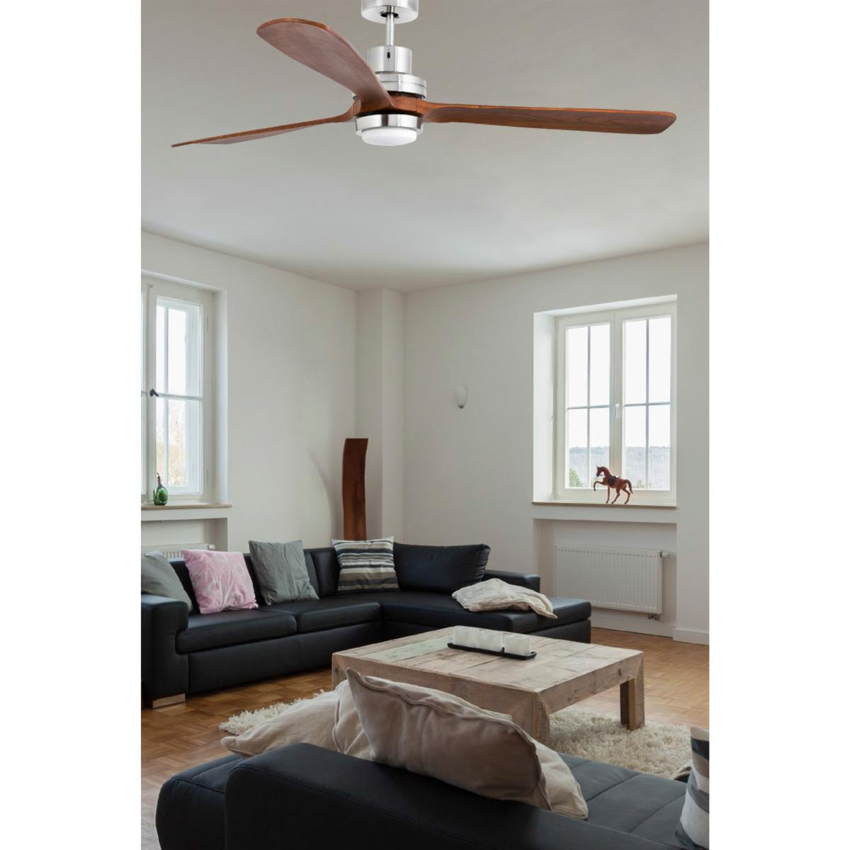 lustre ventilateur de plafond faro lantau g led 33463. Black Bedroom Furniture Sets. Home Design Ideas