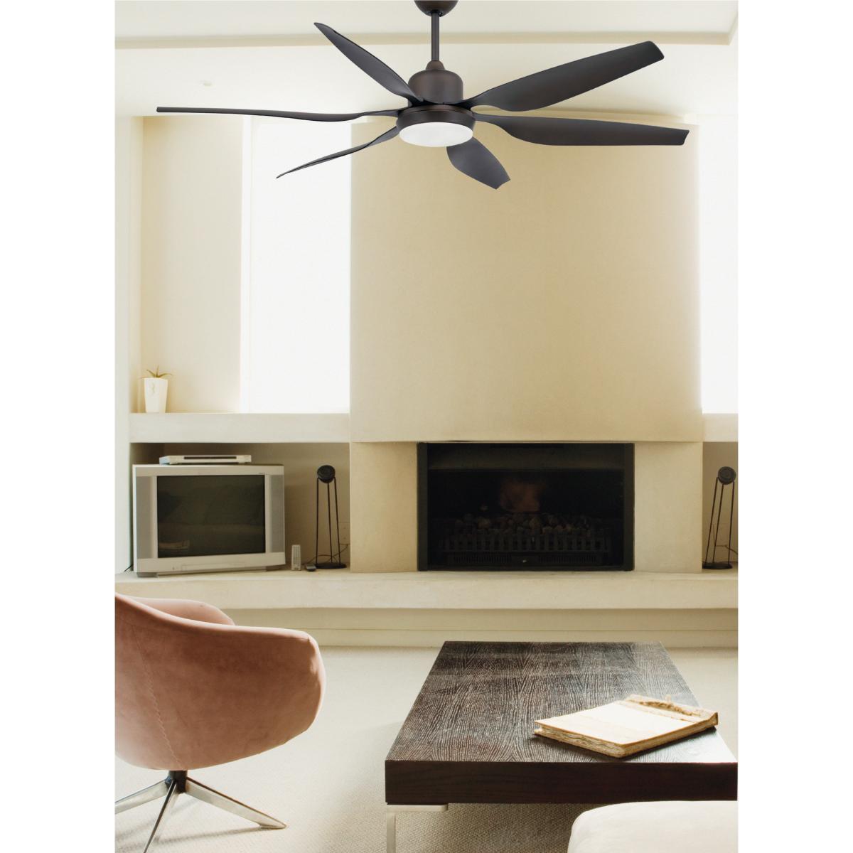 lustre ventilateur de plafond faro tilos led 33466. Black Bedroom Furniture Sets. Home Design Ideas