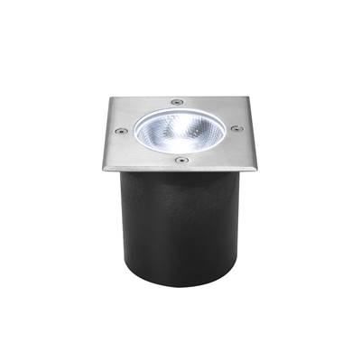 ROCCI 125 CARRE 6W LED, encastré de sol ext., Inox 316, LED 4000K IP67 SLV