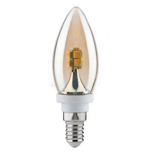 ampoule led flamme dor clair e14 2 2w paulmann. Black Bedroom Furniture Sets. Home Design Ideas