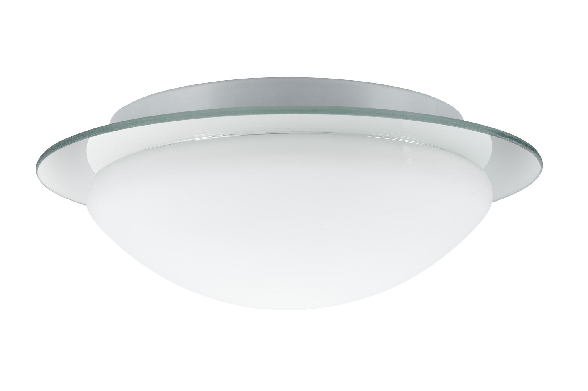 Plafonnier salle de bain paulmann mirfak ip44 max 40w 230v for Lampe plafonnier salle de bain