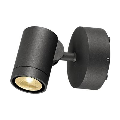 HELIA, applique, simple, anthracite, 8W LED, 3000K SLV