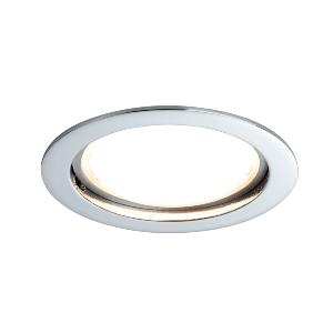 Spot LED IP44 encastrable fixe 14W 230V chromé IP44 PAULMANN