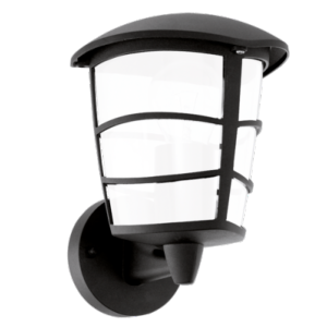 Applique 1-lum GX53-LED 7W, montante, Noir