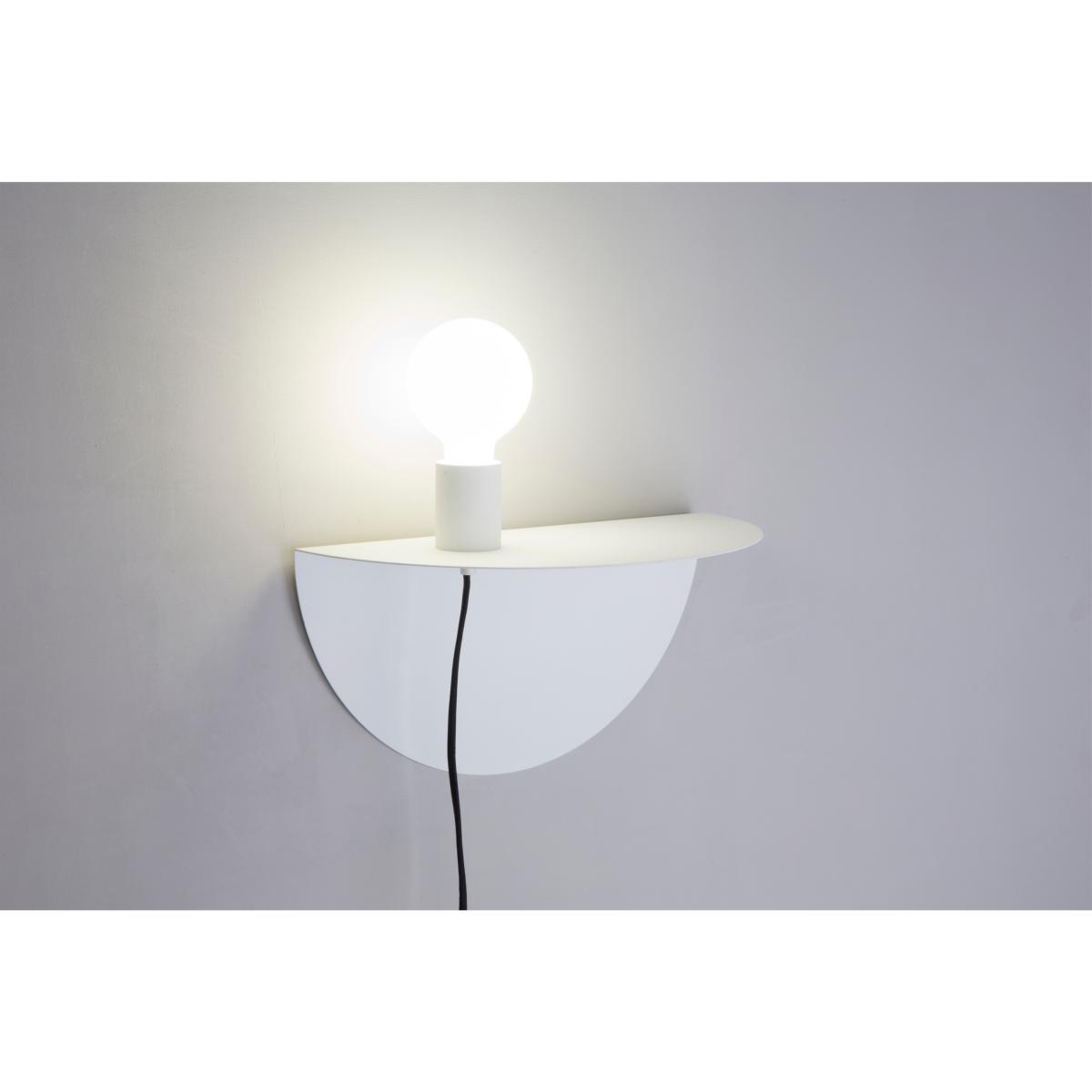 Applique Table De Chevet Blanche Nit Faro 01005