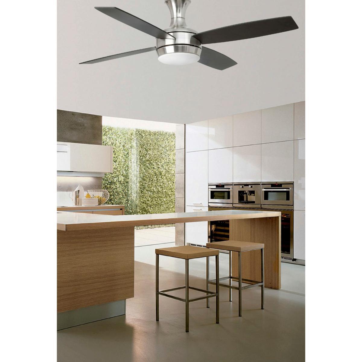 lustre ventilateur de plafond faro ufo 33259. Black Bedroom Furniture Sets. Home Design Ideas