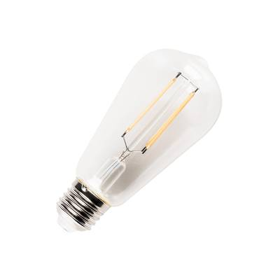 LED ST58, E27, 7,1W, 2700K, 330°, transparent SLV