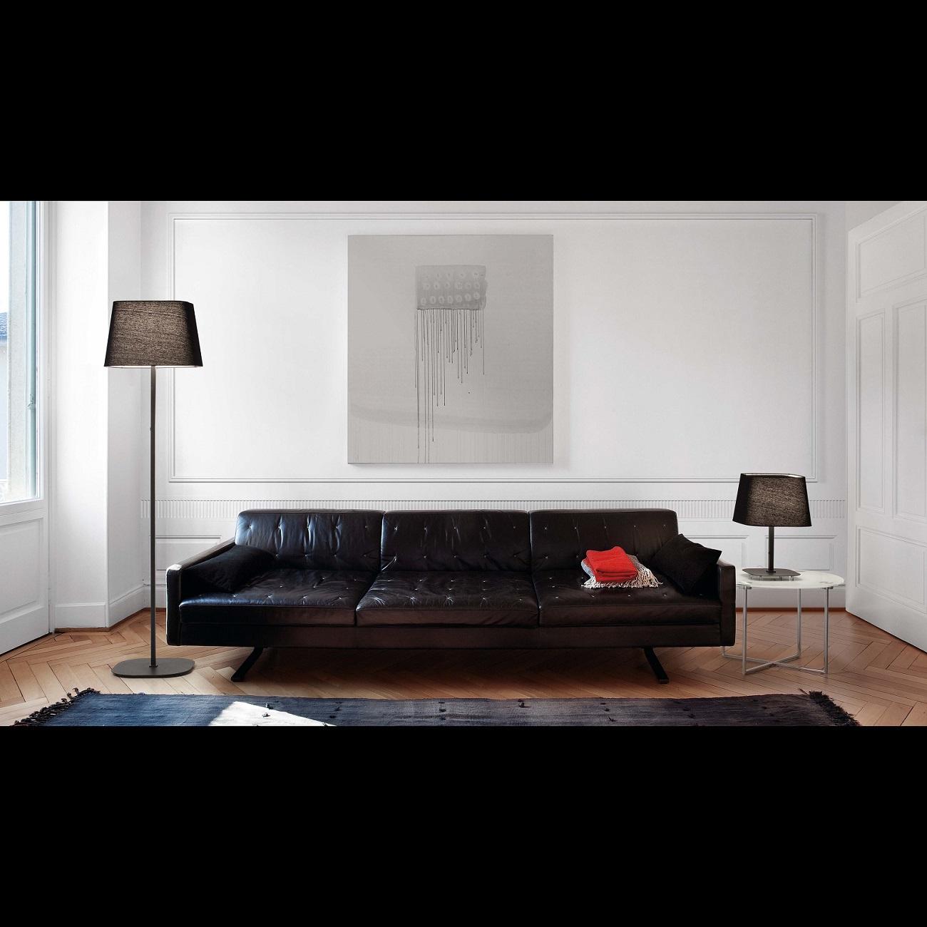 Lampadaire design intérieur SWEET FARO Noir