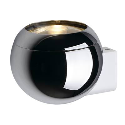 LIGHT EYE BALL applique, chrome/blanche, GU10, max. 75W SLV