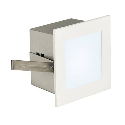 FRAME BASIC LED encastré, carré, blanc mat, LED 4000K SLV