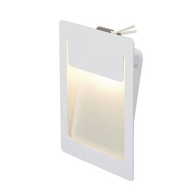 DOWNUNDER PUR 155 encastré, carré, blanc, 5,2W LED 3000K, 120x155mm SLV