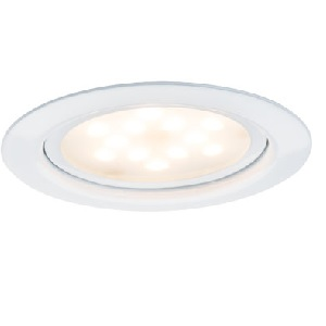 Spot led extra plat encastrable 4.5W rendu 35W Blanc PAULMANN. IP20