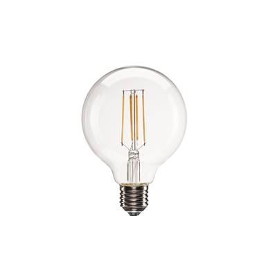 E27 LED G95, 330°, 2700K, 806lm, variable SLV