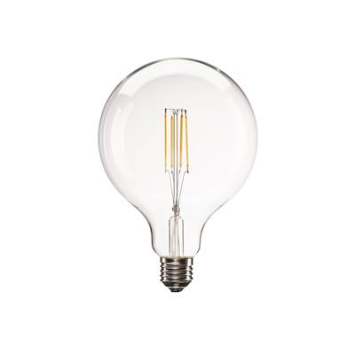 E27 LED G125, 330°, 2700K, 806lm, variable SLV