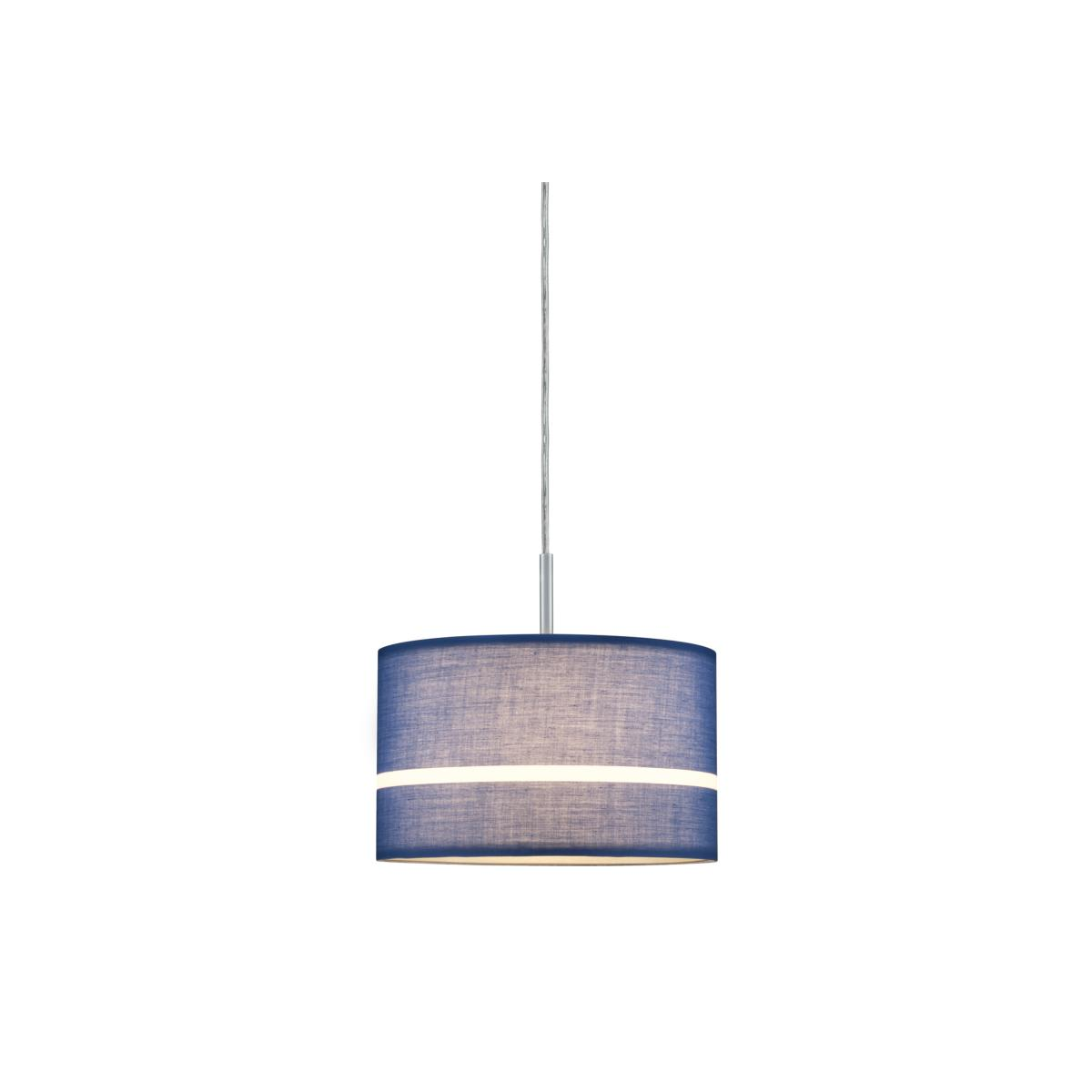 Paulmann Bleu Tessa 60324 Abat Jour Suspension Nn0wm8v