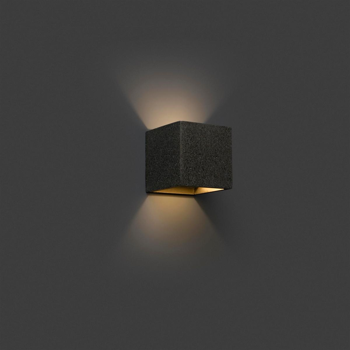 applique murale design b ton kamen faro 220v 63312. Black Bedroom Furniture Sets. Home Design Ideas