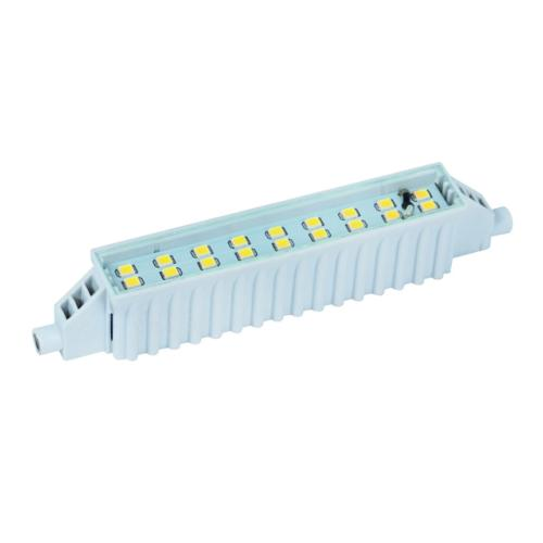 LED R7s 6W 118 mm Blanc chaud 3000 K 500 lm.