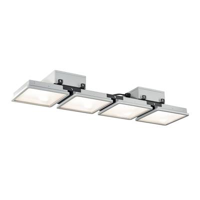 ALMINO quad, suspension, gris argent LED 180W 4000K SLV