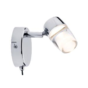 Spot patère Bowl PAULMANN 1x3.2W LED 230V Chrome