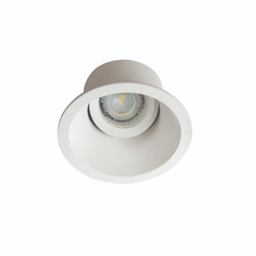 Spot encastrable orientable LED en retrait blanc mat Kanlux