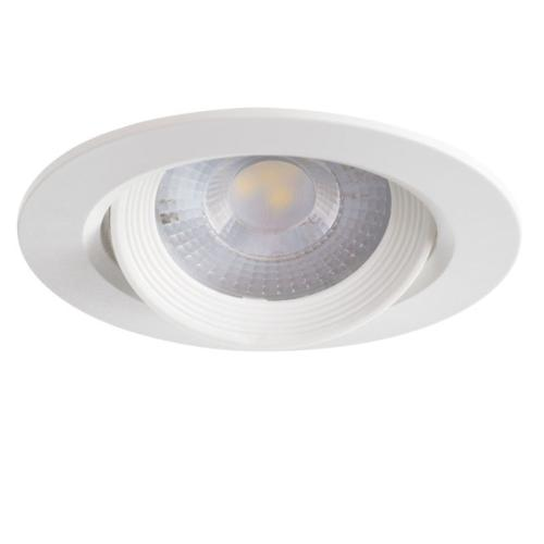 Spot LED encastrable extra plat 5W 40° 230V Blanc chaud 3000K