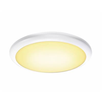 RUBA 20, applique/plafonnier blanc, LED 27W 3000/4000K, IP65 SLV