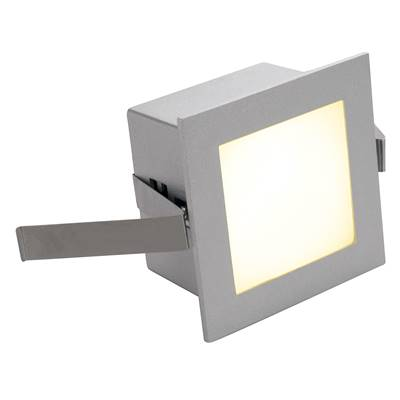 FRAME BASIC LED encastré, carré, gris argent, LED 3000K SLV