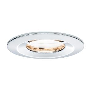Spot led ip65 encastrable dimmable chrome 7w gu10 230v for Spot led ip65 salle bain