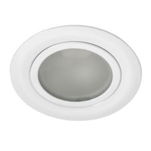spot encastrable 12v fixe g4 max 20w blanc. Black Bedroom Furniture Sets. Home Design Ideas