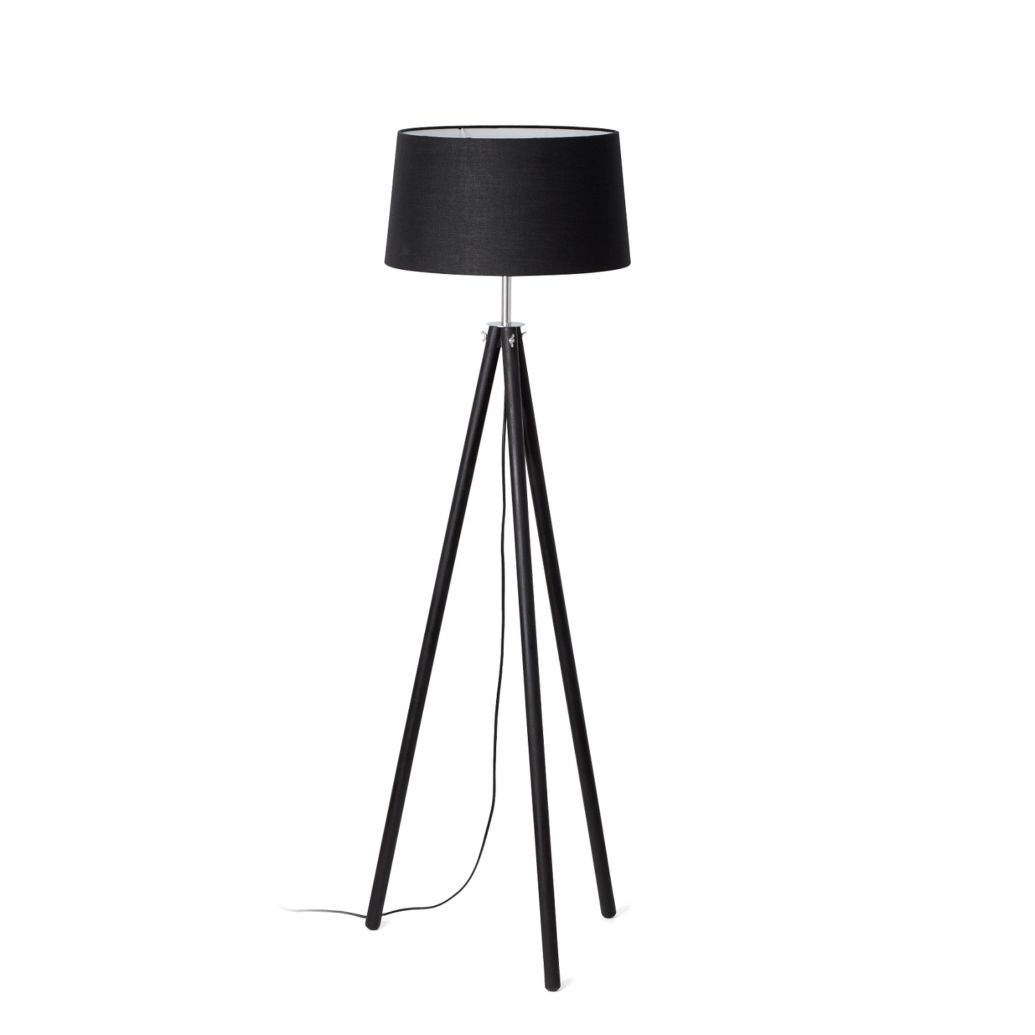lampadaire design int rieur dix faro noir. Black Bedroom Furniture Sets. Home Design Ideas