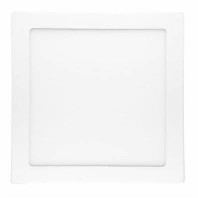 Plafonnier LED 18W Carré Montage en saillie 2700K