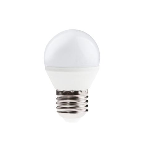 Ampoule LED E27 6.5W Globe 45 mm Blanc Chaud.