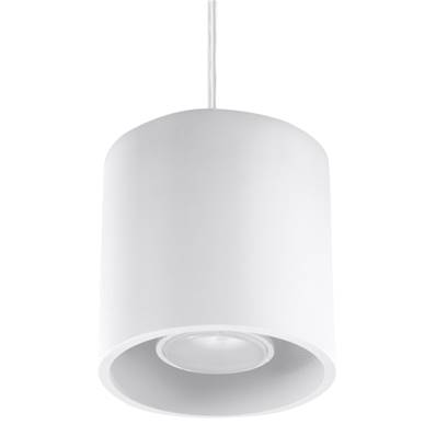 Lampe suspension ORBIS 1 blanc Sollux Lighting SL0053