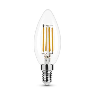 Ampoule LED Filament Flamme C35 4W E14 360° 2700K