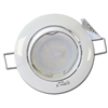 Spot Led GU10 Encastrable Orientable Blanc Led 7W rendu 50W 120° 3000K