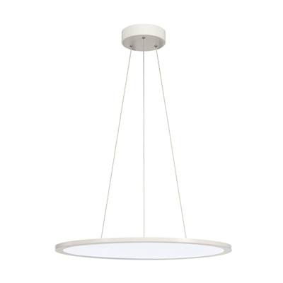 LED PANEL ROND suspension, blanc mat, LED 40W 4000K, variable 1-10V SLV