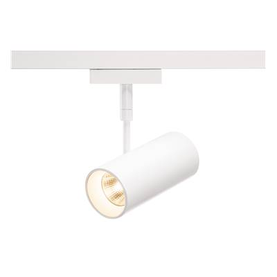 REVILO LED spot, blanc, 9,7W, 2700K, 15°, adaptateur rail 2 allumages SLV