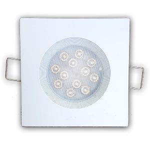 Spot Led GU10 Encastrable Blanc Led PHILIPS 5W rendu 50W Blanc Chaud