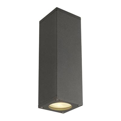 THEO UP/DOWN, applique, anthracite, QPAR51 max. 2x50W SLV